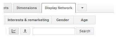 Секция Display Network в Adwords
