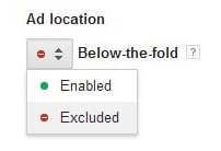 Деактивиране на Bellow-the-fold