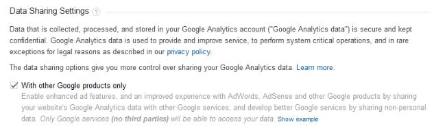 Споделяне на данни между Adwords & Analytics