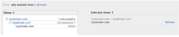 Избор на домейна за свързване