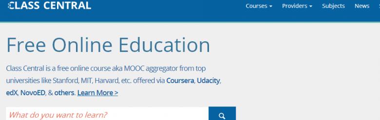 Агрегатор за безплатни обучения и курсове - Class Central