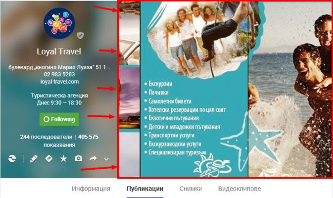 Loyal travel google plus cover