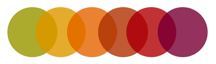 оттенъци на цветовете