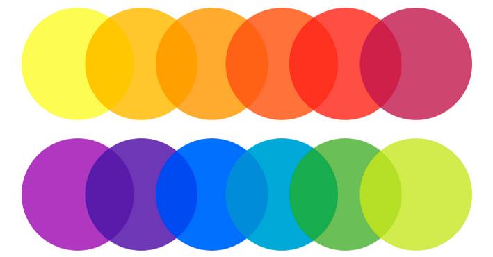 контраст на цветовете