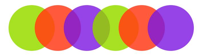 форми на цветовете
