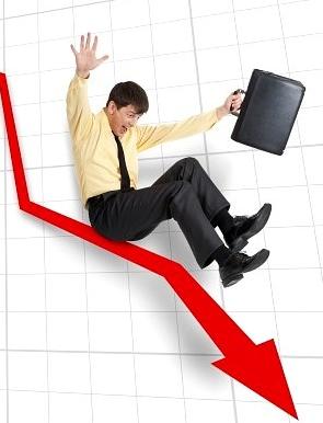 Спад в уеб трафика
