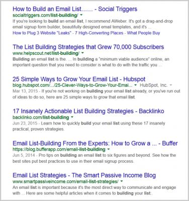 """Резултати при търсене за """"list building"""""""