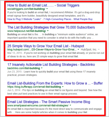 Ключова дума в title тага не гарантира първи места в Google