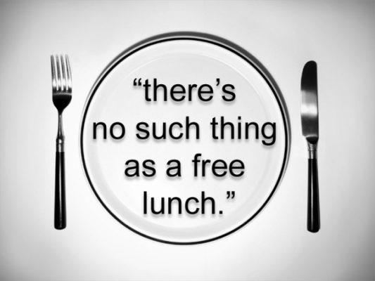 Няма безплатен обяд