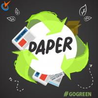Хартия за рециклиране