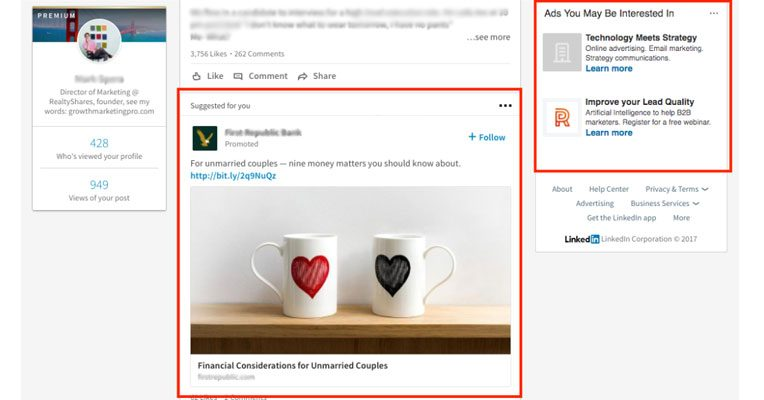 Рекламна кампания в LinkedIn