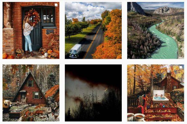 Есенни снимки в Инстаграм