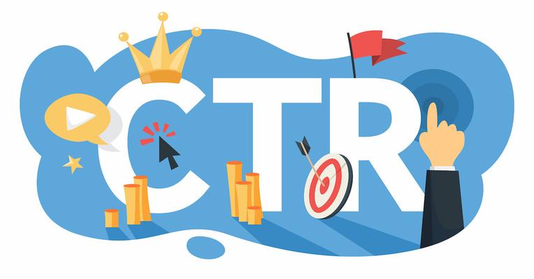 Промяната на органичния CTR според вида на страницата с резултати в Google