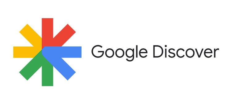 Логото на Google Discover